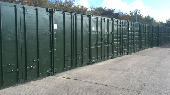 Secure Container Storage in Stratford